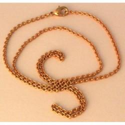 Wikinger Halskette Bronze Ingun 51 cm