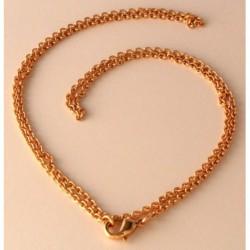 Wikinger Halskette Bronze Ingun 56 cm